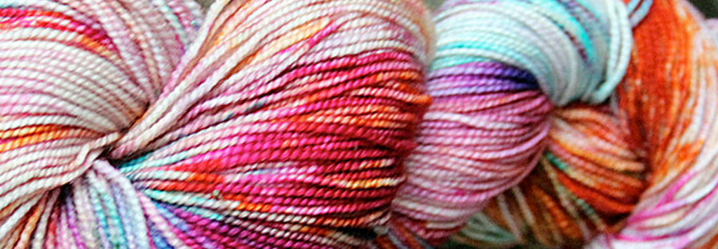 blissful knits colorful yarn