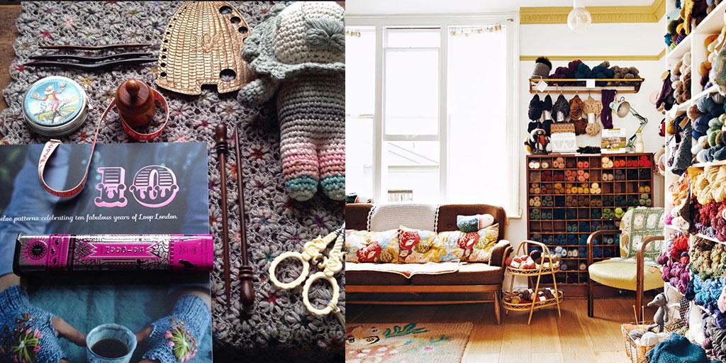 Knitting Store In Tokyo : Episode meri tanaka japanese fiber culture twitter