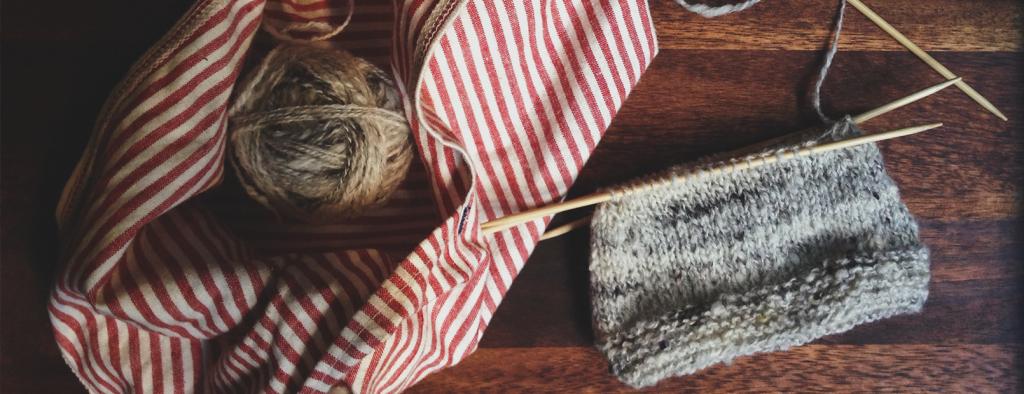 work in progress knits